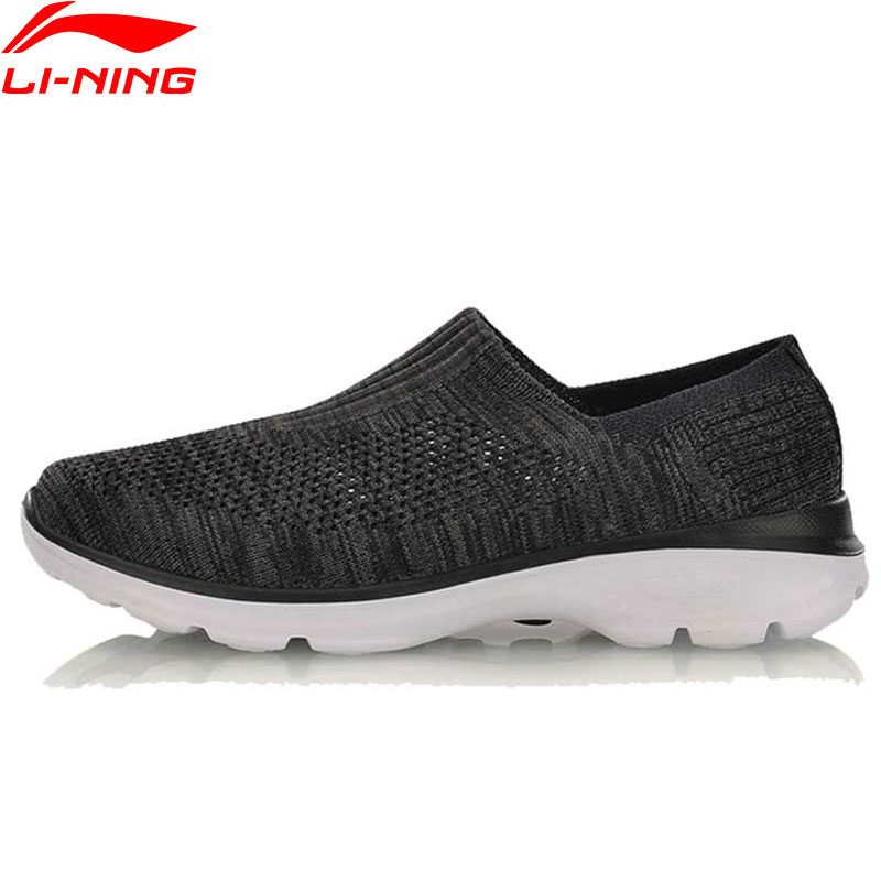 Li Ning Women s Easy Walker Lifestyle Shoes Textile Breathable Sneakers Light Fitness LiNing Sport Shoes
