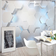 3D Stereo Geometry Modern Wall Painting