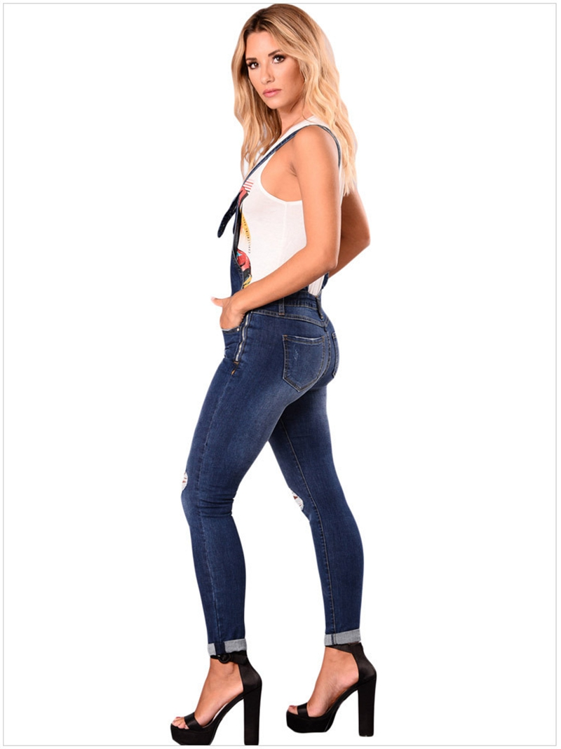 2018 New Arrival Sleeveless Jumpsuit Jeans Sexy Bodysuit Women Denim Overalls Rompers Girls Pants Jeans Ladies (28)