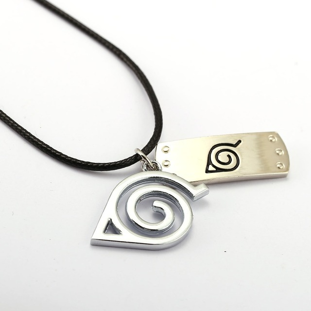 Uzumaki Naruto Logo Necklace
