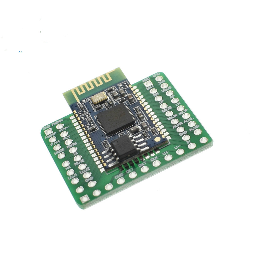 1set Bluetooth Stereo Audio Module Transmission <font><b>BK8000L</b></font> AT Commands SPP Bluetooth Speaker Amplifier DIY #Hbm0195 image