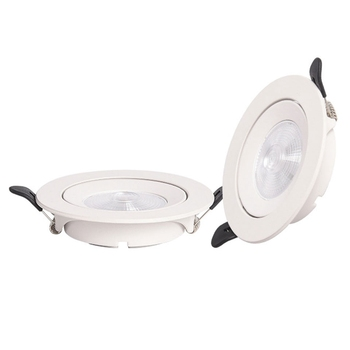 GD 5W 12W 15W 20W LED Downlight COB AC220V Non Dimmable Ceiling Spot Lighting Anle Adjustable LED Spot For Home Decor + Driver