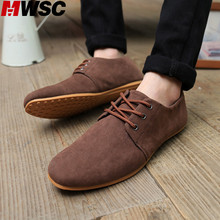 MWSC Casual Italian Style Nubuck Men Leather Shoes Business Dress Zapatos Hombre Spring Autumn Moccasins Men Shoes