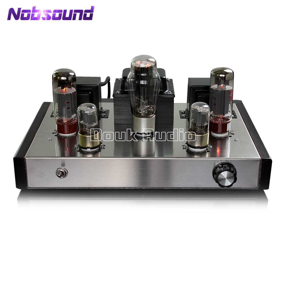 цена на Music Hall 6N9P+EL34 Vacuum Single-ended Class A Tube Amplifier HiFi 2.0 Channel Stereo Integrated Amp 26W Pure Handmade