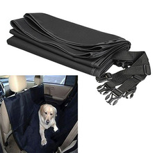 New Design! Black145x135CM Waterproof Oxford Auto Car Trunk Mat / Back Seat Cover For Pet Dogs