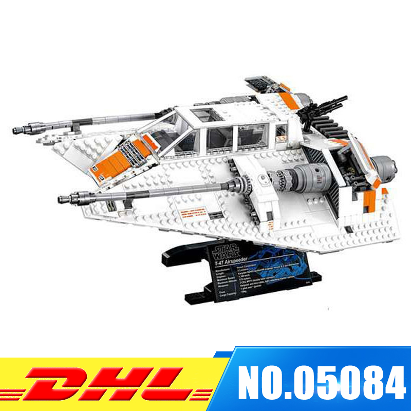 LEPIN 05084 UCS series the Snowspeeder Model Building Bricks set compatible 10129 education Classic  Toy for boys girls ynynoo lepin 02043 stucke city series airport terminal modell bausteine set ziegel spielzeug fur kinder geschenk junge spielzeug