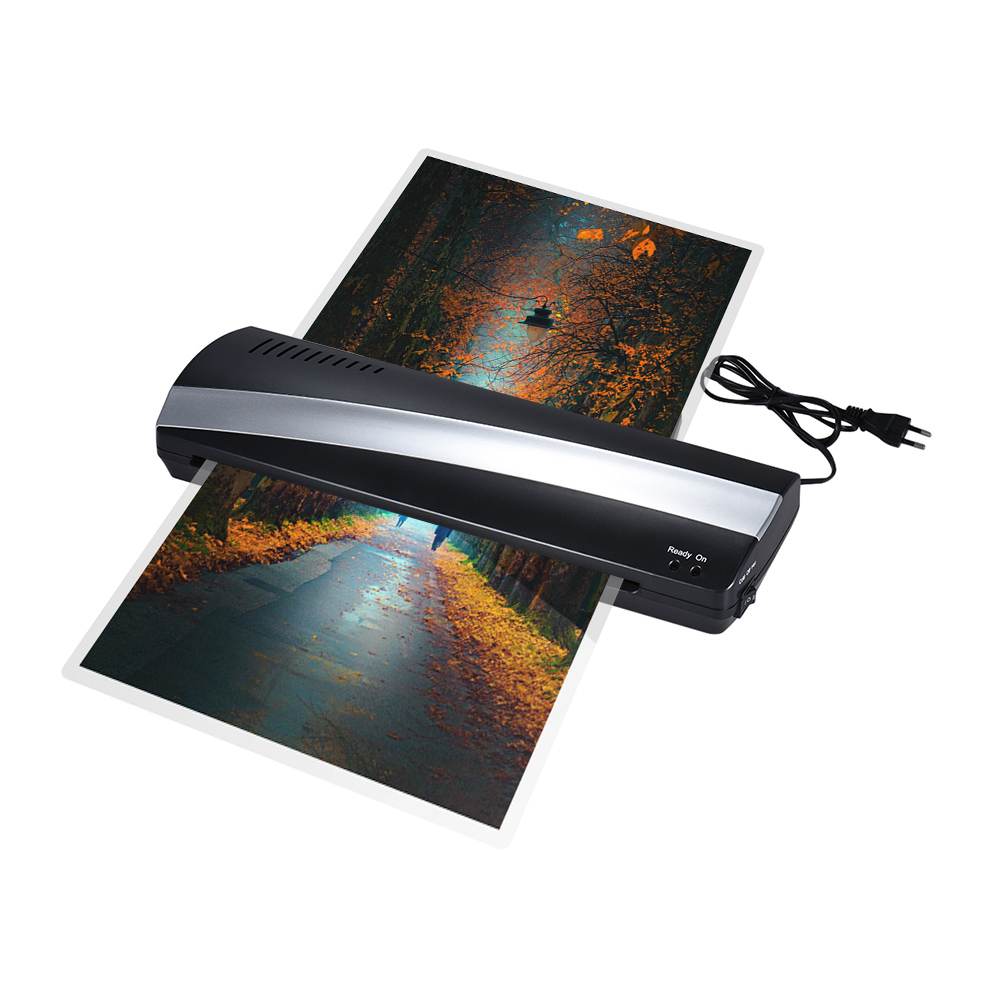 A3 Hot and Cold Photo Laminator Machine Paper Film Document Thermal Laminating Machine Width Photo Paper Fast Laminating Speed cewaal new design a4 photo laminator document hot