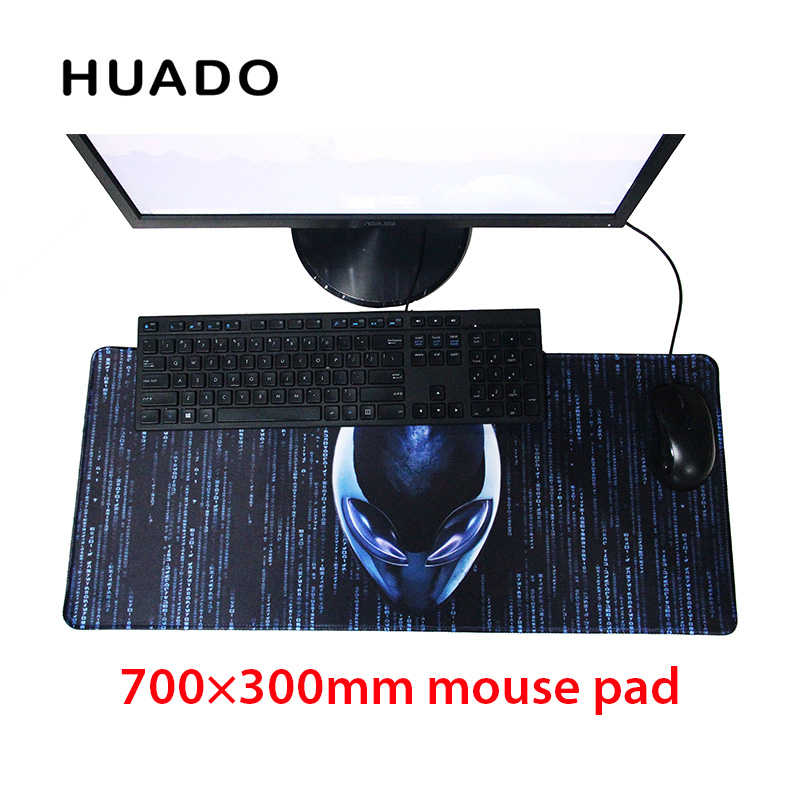 Rubber Gaming Mouse Pad keyboard mat mousepad 700*300mm desk mat for world of tanks/ cs go/ dota 2/ steelseries/lol