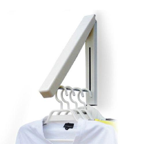 Stainless Folding Wall Hanger Mount Retractable Clothes Indoor Hangers Bathroom Accessories Wall Hook
