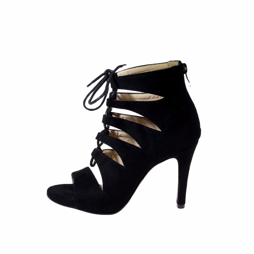 2e5a290c32 HAIOU Marcas 2017 Europea Nuevo Estilo Romano Sandalias de Las Mujeres  Bombea Zapatos de Fiesta de Punta Abierta Zapatos de Mujer Sandalias de  Gladiador de ...