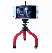 цена на Universal Cell Phone Holder Flexible Octopus Tripod Phone Holder Stand Support for xiaomi 8 for iphone 7 for  samsung Trestle