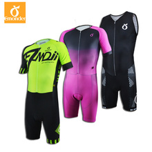 Hot Summer cycling jersey Short Cycling Skinsuit Unisex Triathlon Jersey Sets Ropa Ciclismo Bike Sports Clothing