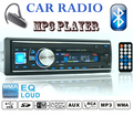 12 V Suporte a Bluetooth Telefone Rádio FM Estéreo MP3 Player De Áudio Do Carro com USB/SD MMC/Chevrolet/vw/Mazda Car Radio FM MP3 player