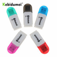 Kebidumei USB Bluetooth 5.0 Receiver Audio Stereo adapter Wireless Handsfree Dongle Kit for Speaker for Car AUX Android/IOS