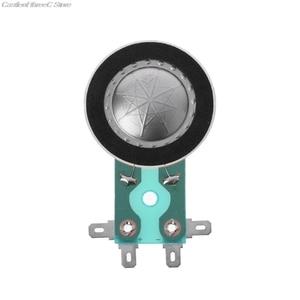 Image 1 - 25.4MM Tweeters Voice Coil Round Audio Speaker Treble Coil Horn Titanium Film Copper Clad Alumium Diaphragm Repair Accessories