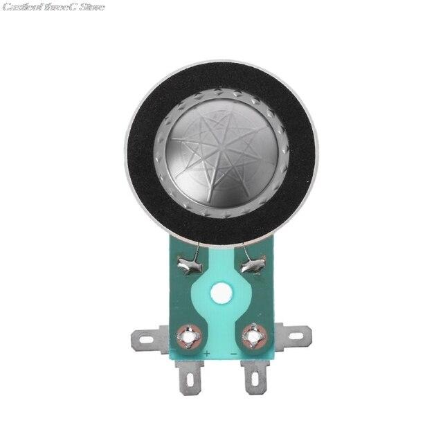 25.4MM Tweeters Voice Coil Round Audio Speaker Treble Coil Horn Titanium Film Copper Clad Alumium Diaphragm Repair Accessories