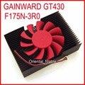 Frete Grátis GAINWARD F175N-3R0 GT430 2 Fio 2Pin Cooler Ventilador de Refrigeração