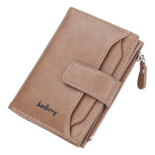 Hot Sale High Quality Style Men Wallets Quality Soft Pu Leather Black Brown Casual Business Card Holder Purse Wallet Billetera цены
