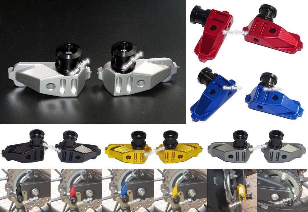 Waase CNC En Aluminium Bras Oscillant Bras Oscillant Spool Curseur Adaptateurs Monte Pour HONDA CB500F CB500X CBR500R 2013 2014 2015 2016 2017