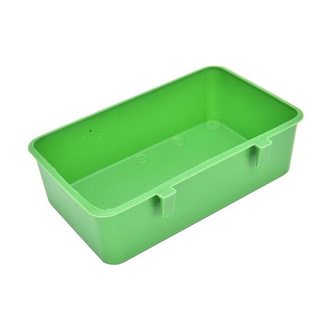 1 PZ Pet Acqua Alimentazione Alimento Scatola Scatola di Plastica ...