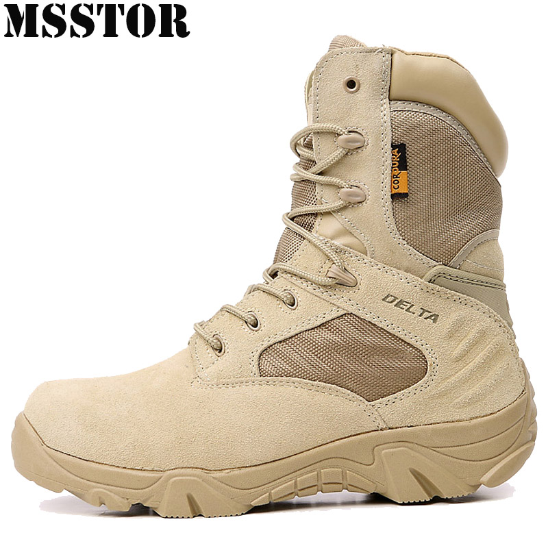 MSSTOR 2018 Men Hiking Shoes Brand Outdoor Athletic Hiking boots Mountaineering Hunting Trekking Men's Sneakers Camping Sports winter men s outdoor warm cotton hiking sports boots shoes men high top camping sneakers shoes chaussures hombre