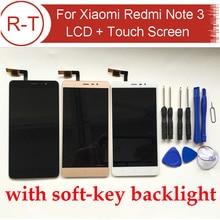Pantalla LCD Para Xiaomi Redmi Nota 3 FHD 5.5 pulgadas de pantalla lcd con Panel Táctil de Reemplazo Para hongmi Nota 3 Pro de iluminación del teclado