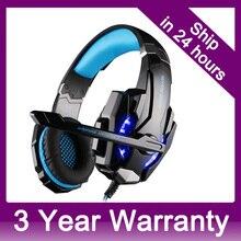Gaming headset auriculares para playstation 4 ps4 tablet pc iphone 6/6 s/6 plus/5S/5 teléfonos móviles, 3.5mm Para Auriculares con Micrófono