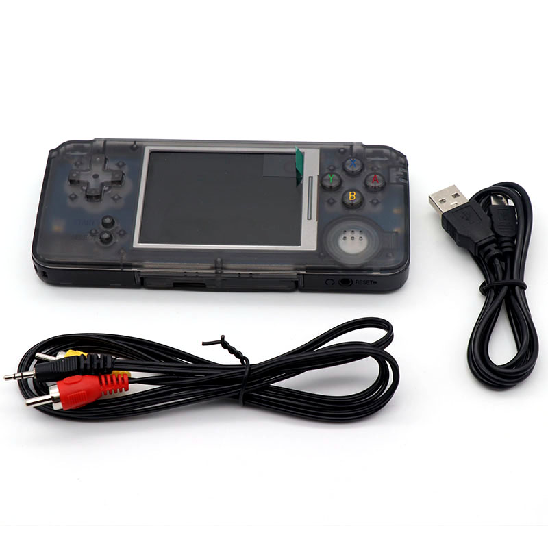 купить Coolbaby Classic 3.0 inch Color Screen Handheld Game Console 64 bit Game Players built-in 3000 Games Support MP3 MP4 MP5 недорого