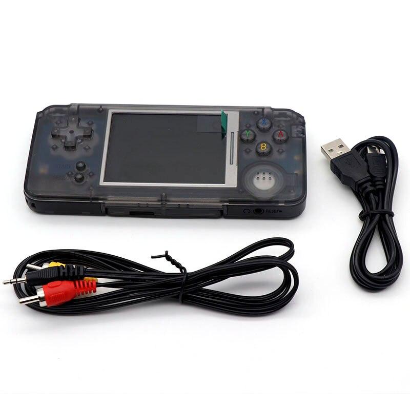 Coolbaby Classique 3.0 pouce Écran Couleur De Poche Jeu Console 64 peu Jeu Joueurs intégré 3000 Jeux Soutien MP3 MP4 MP5