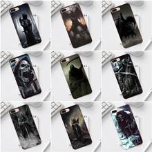Grim Reaper Gothic Death For iPhone X XS Max XR 4 4S 5 5C SE 6 6S 7 8 Plus Galaxy A3 A5 J1 J3 J5 J7 2017 Hot Selling Fashion(China)