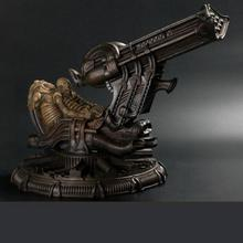 OGRM Handmade Resin AVP Alien War Space Jockey Base Handicraft H.R.Giger Art Figure