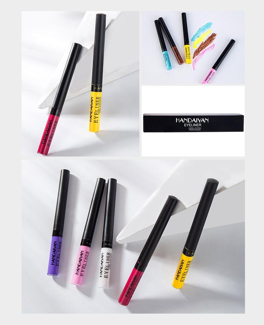 fosco neon colorido lápis delineador de longa