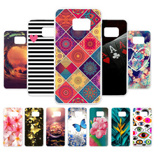 3D DIY Case For Samsung Galaxy S7 Edge Case Silicone Painted Cover For Samsung S7 G930F G935F Case Back Cover Fundas Coque Capa цена 2017