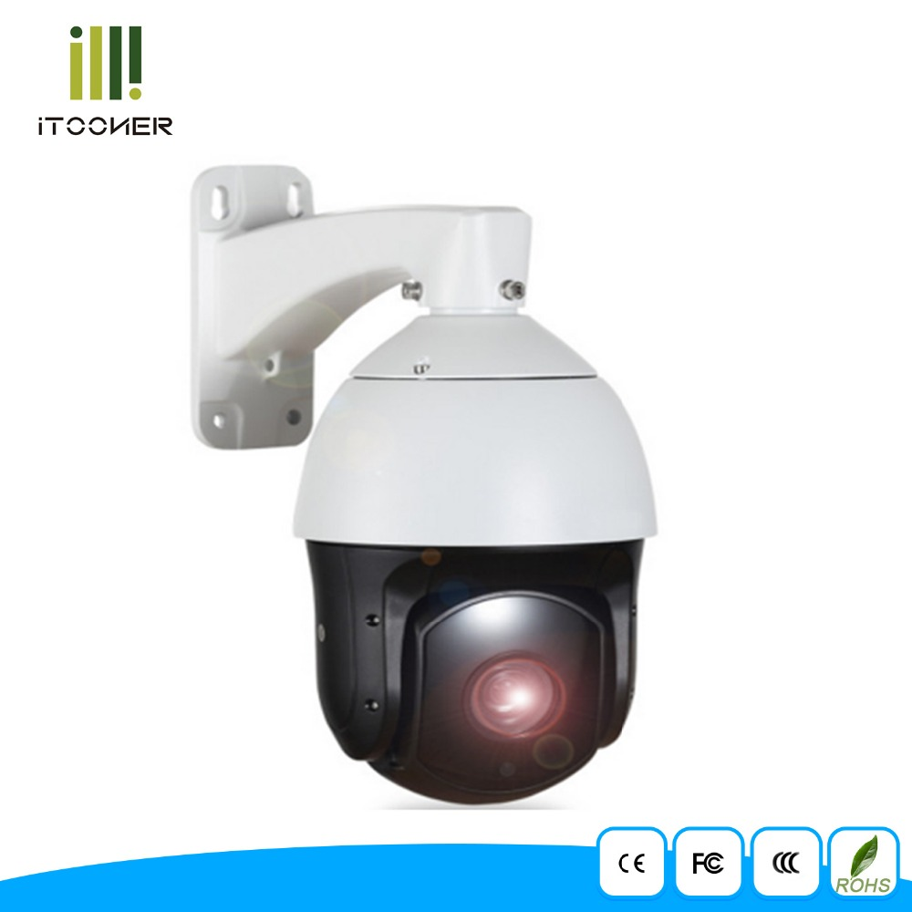 POE Outdoor PTZ IP Camera with audio HD 1080p 2MP 20xOptical Zoom IP66 Waterproof Support Motion Detection IR Night Vision 300ft hbss 4ch 1 0m hd 2tb hdd poe ip66 waterproof motion detection 1280 720p ir night vision outdoor mult lang surveillance system