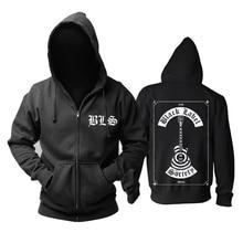 Bloodhoof Black Label Society  Heavy metal mucis new zipper  HOODIE Asian Size