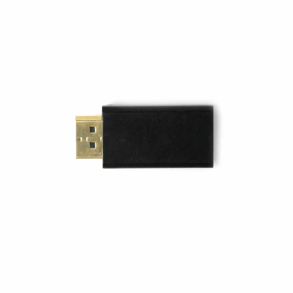 ミニディスプレイポート Dp オス Hdmi メスアダプタポータブルタブレットホットプラグアダプタのコンバーターへの 1080 1080P の HDTV 、 PC # Y15