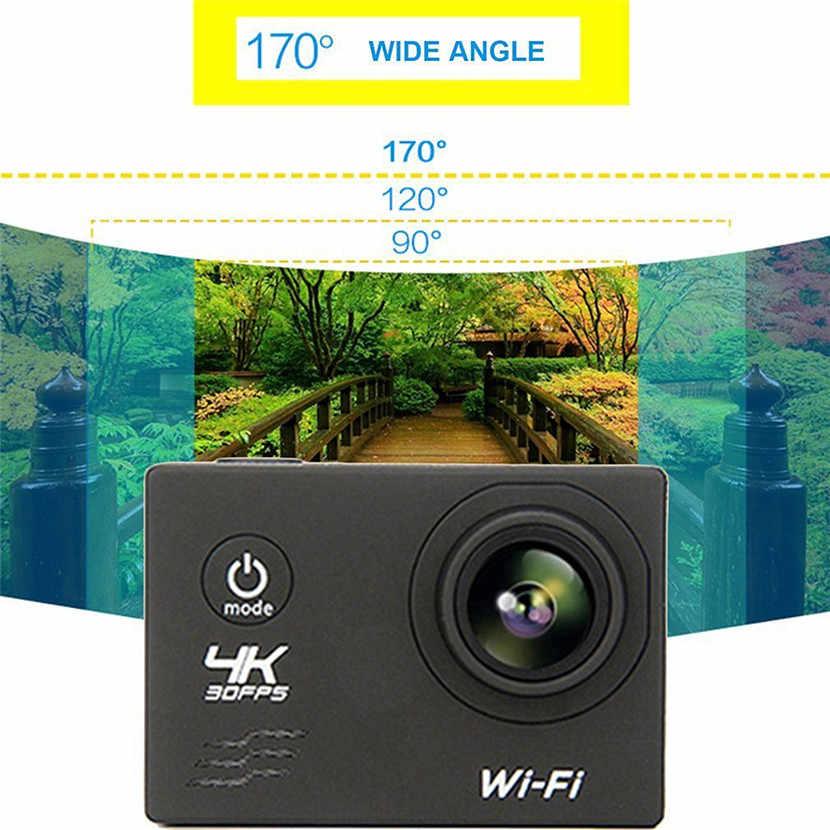 F60 FHD Wifi アクションカメラ 16MP 170 度ワイドエンジェルスポーツ DV 防水屋外ダイビング乗馬写真撮影ビデオ録画