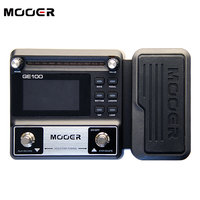 NEW MOOER GE100 Guitar Multi Effects Processor Large High Brightness LCD Display