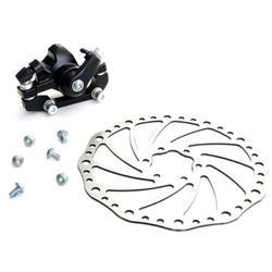 5 шт. x (хорошее предложение горная дорога велосипедный спорт велосипед механические задние дисковые тормоза суппорт набор черный