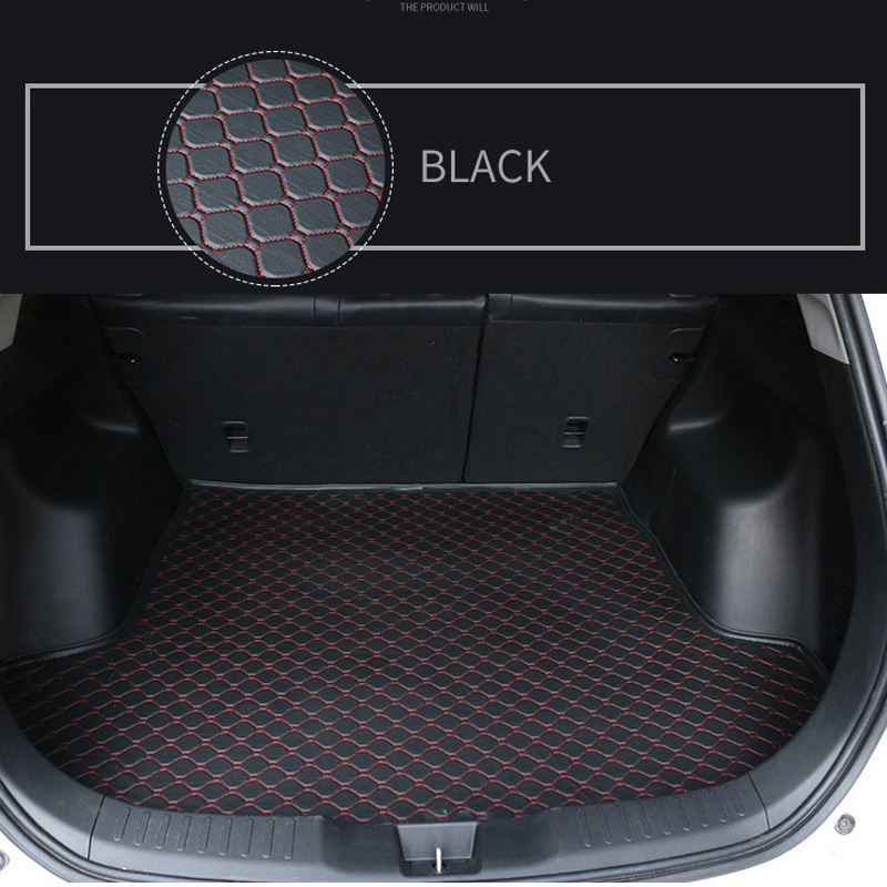 New Luxury Custom Dustproof Car Trunk Mat For PEUGEOT 307SW 308 308GT 308SW 5seat 408 508 3008 4008 5008 RCZ All Models