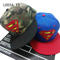 Fashion Superman Snap Back Snapback Caps Hat Super Man Adjustable Gorras Hip Hop Casual Baseball Cap Hats for Men Women Bone