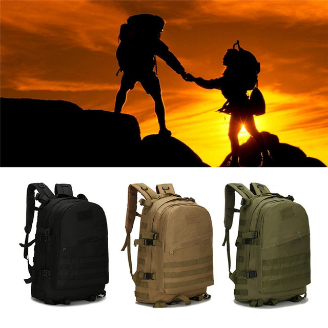 1c898f687096 40L Oxford Military Backpack Man Waterproof Outdoor Camping Hiking Trekking  3D Sport Bag Rucksack CAMPHIKING Tactical