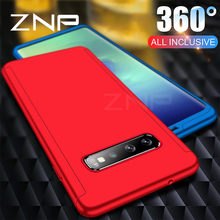 ZNP Luxury 360 Degree Full Cover Phone Case For Samsung Galaxy S10 Plus S10E Note 9 Shockproof Cover For Samsung S10 Lite Cases(China)