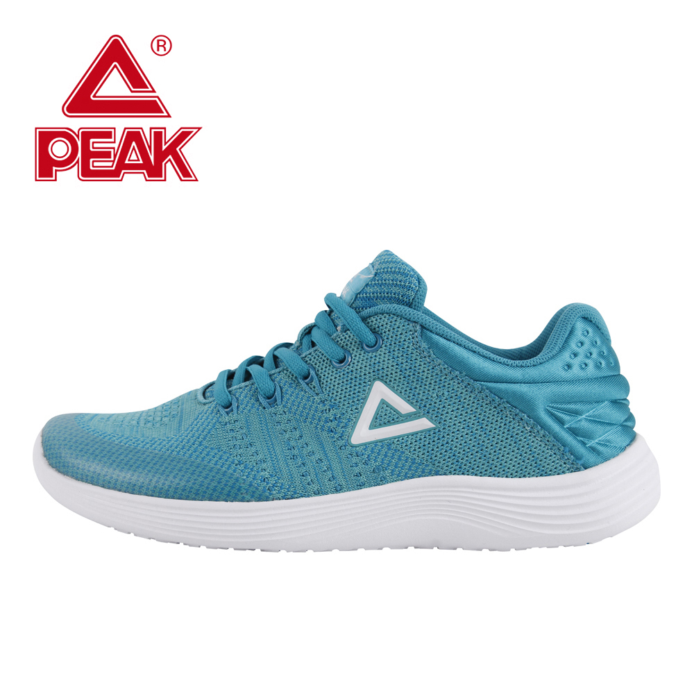 PEAK Comfortable Running Shoes Women Lightweight Cushion Breathable Athletic Shoes Outdoor Sneakers Sport Ladies Running Shoes peak sport hurricane iii men basketball shoes breathable comfortable sneaker foothold cushion 3 tech athletic training boots