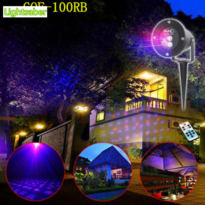 Waterproof Red Green 8 Patterns Laser  outdoor lawn lighting Christmas  Lights Elf Laser Projector landscape light laser lamp  christmas waterproof laser lighting landscape sky star green red laser effect projector stage light for outdoor garden lamp