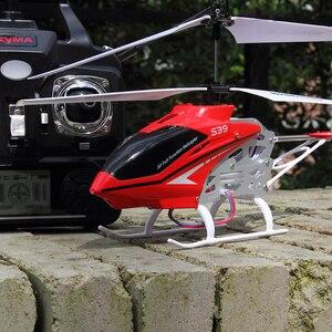 Image 5 - Syma s39 3ch 2.4g 원격 제어 헬리콥터 합금 헬리콥터 자이로 스코프 최고의 장난감 선물 rtf rc 장난감 원래 상자와 소년을위한