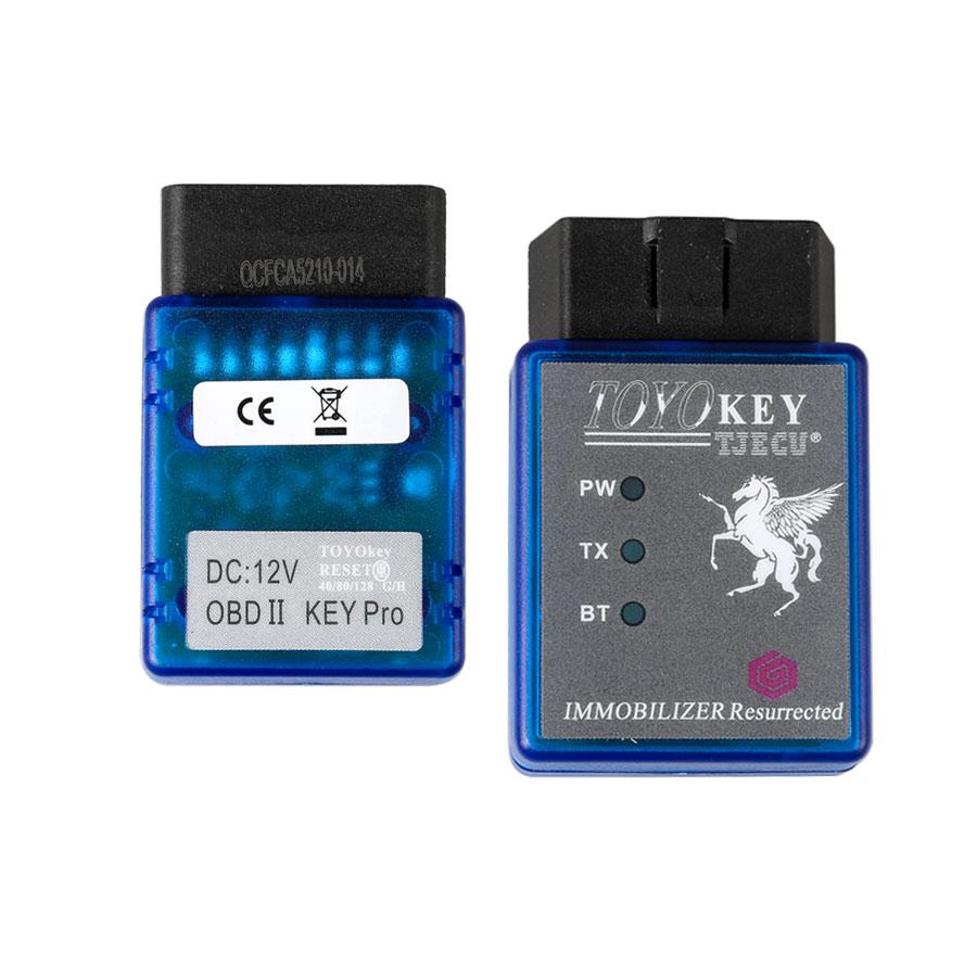 TOYO Key про OBDII работа с мини CN900 или мини 900 Поддержка G H и 8A чип все основные потерял