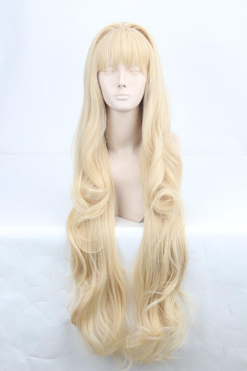 Vocaloid Hatsune Miku SeeU Cosplay Wig Wavy Long Light ...