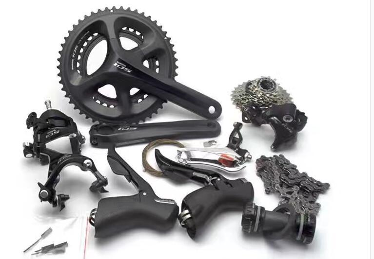 купить Shimano 105 5800 11 Speed Groupset 2*11 22 Speed road bike bicycle groupset Bicycle Parts недорого