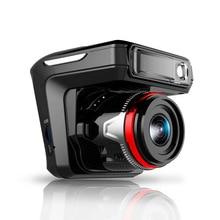 """2.4 """"oculto 3 En 1 GPS Detector de Radar DVR Del Coche 1080 P de Flujo inglés Voz Dual Len Dash Cam Grabadora de Vídeo Digital de Visión Nocturna"""